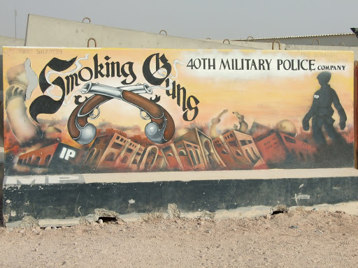 T-Wall Barrier Art in Kuwait | Amuse Creative Studio