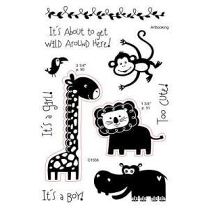 C1558 Wild Wonders Acrylix Stamp Set