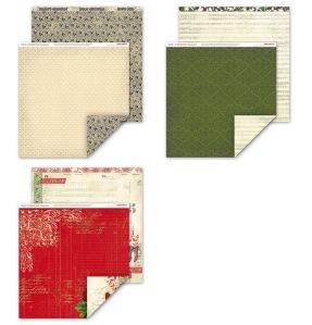 Yuletide Carol paper Pack