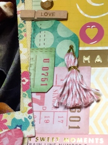 Happy Layout Tassel