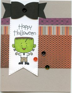 Halloween Boy Card