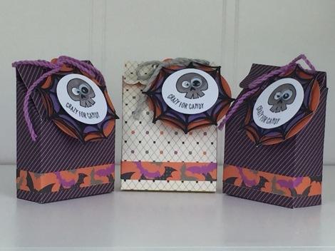 Treat Bags using Artiste Cricut Cartridge